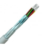 Individually Screened Multipair Data Cable 24AWG Low Cap. RS422